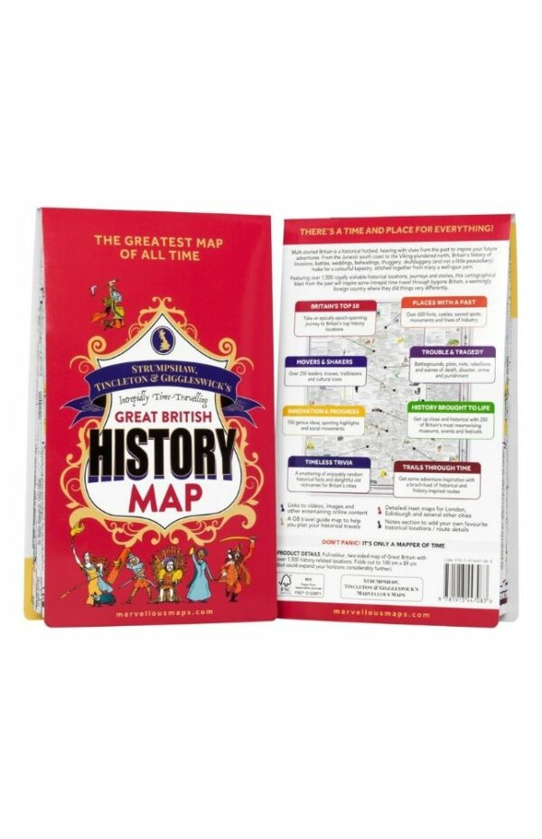 Intrepidly Time-Travelling Great British History Map