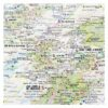 Amazingly Adventure-Filled Great British Map of Wonders close up