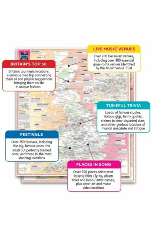 Fastidiously Orchestrated Great British Music Map expanded