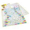 Amazingly Adventure-Filled Great British Map of Wonders unfolded