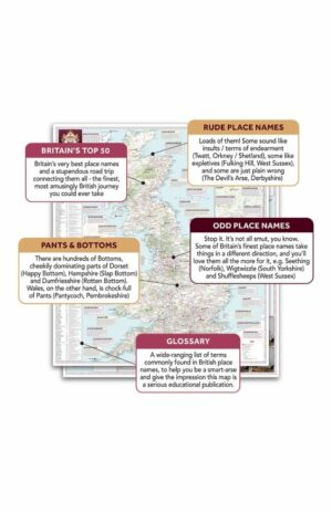 Marvellous Map of Great British Place Names expanded