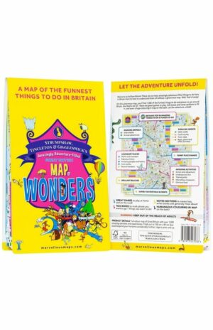 Amazingly Adventure-Filled Great British Map of Wonders